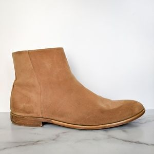 Foundation Rosas Chelsea boots suede tan leather